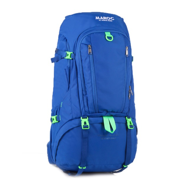 MAROC Travel Backpack 50L - Chefchaouen Blue