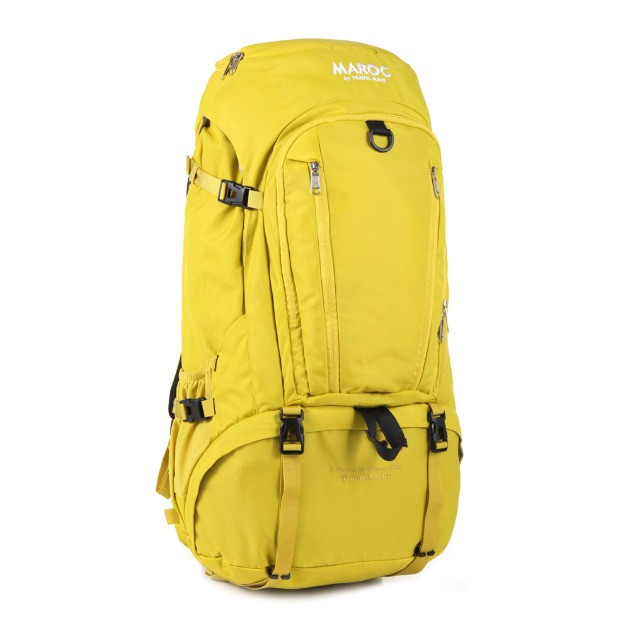 MAROC Travel Backpack 50L - Asilah Yellow