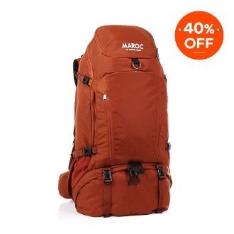 MAROC Travel Backpack 45L - Chebbi Red